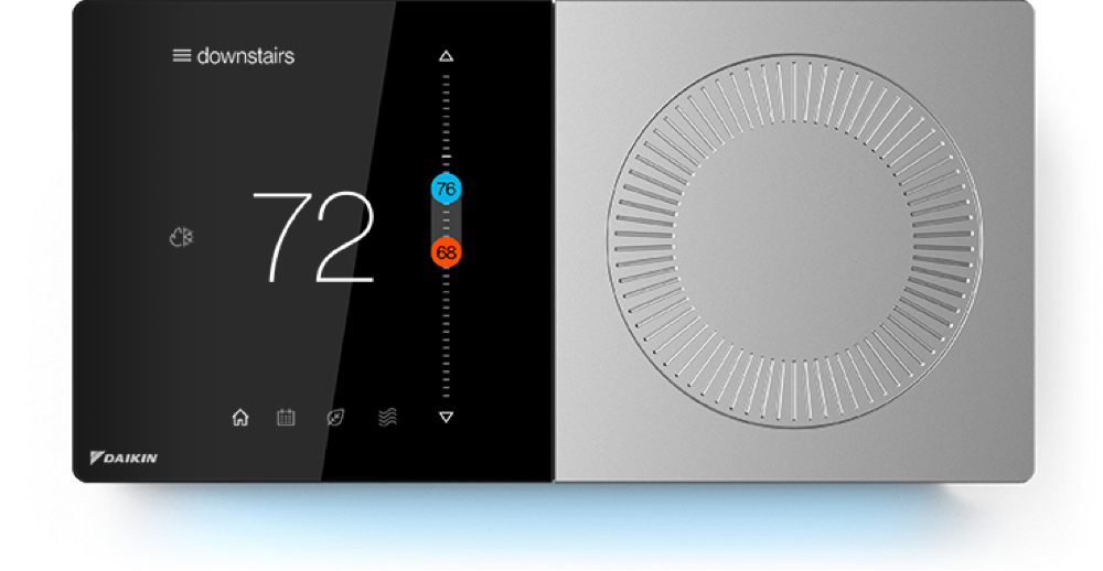 Welcome to the DAIKIN ONE+ Smart Thermostat. on